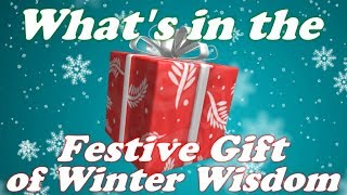 Festive Gift of Winter Wisdom Predictions/Leaks | Roblox Giftsplosion 2017