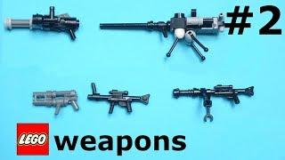 8 more Lego weapons for your minifigures |LW#2