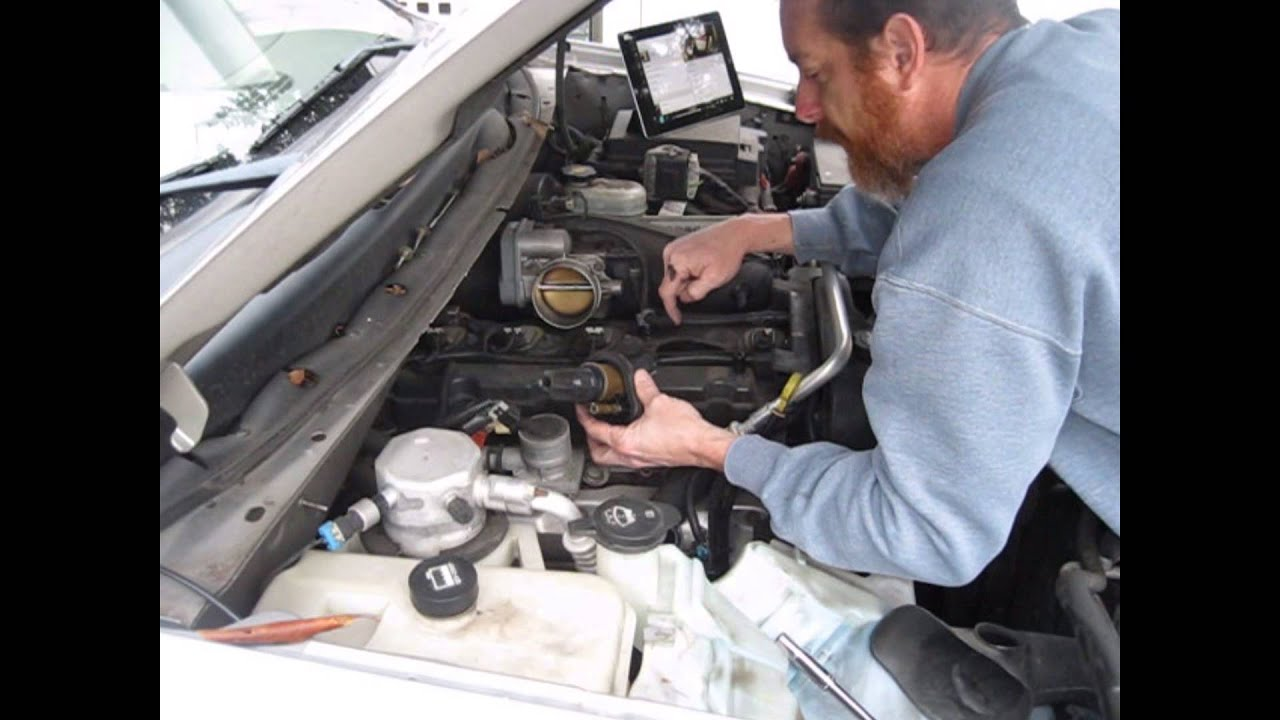 Chevy Blazer 2015 >> How to Change Spark Plugs in a 2004 Chevy Trailblazer - YouTube