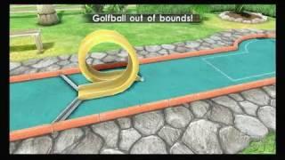 Fun! Fun! Minigolf Nintendo Wii Gameplay - USA Course