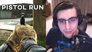 EFT PISTOL RUN + FINDING THE NEW WEAPON! | Shroud on Escape from Tarkov