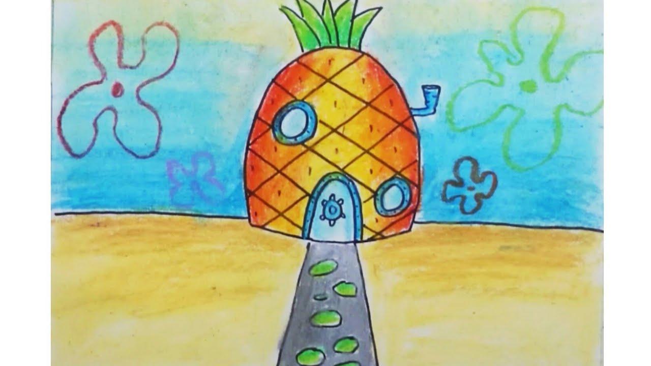 620+ Gambar Pemandangan Rumah Spongebob HD Terbaru