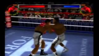 "knockout kings 2000 Muhammad Ali vs Floyd ""Money"" Mayweather"