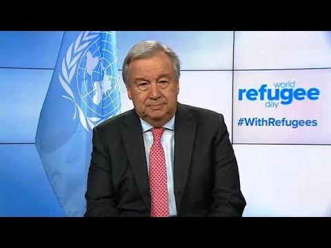 World Refugee Day - UN Secretary-General António Guterres (20 June)