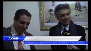 رشيد نكاز في ضيافة الدكتور عبد العزيز بلعيد بالمقر الوطني لجبهة المستقبل - جوان 2014