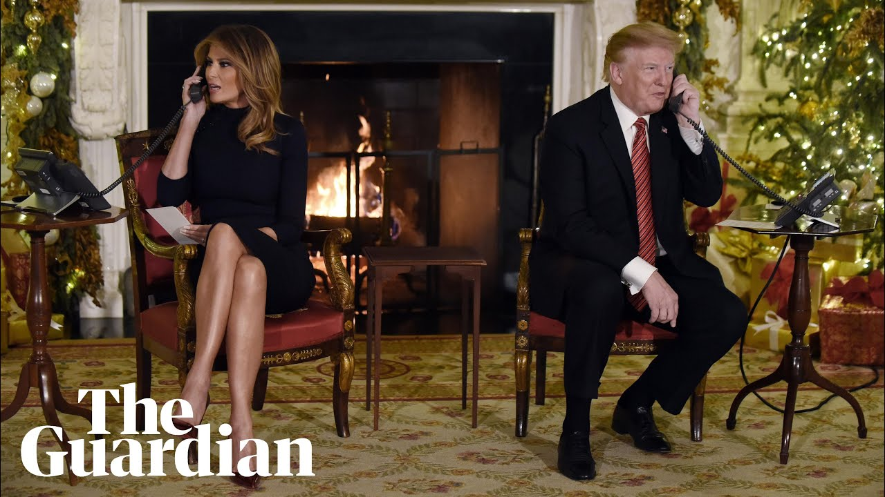 Trump asks seven-year-old if he still believes in Santa