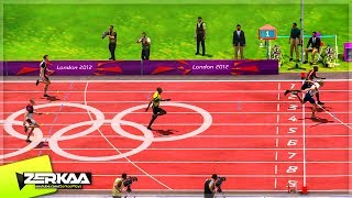 CLOSEST OLYMPIC 100M FINISH EVER! (London 2012)