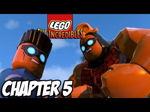 LEGO HOUSE PARR-TY! -  Lego The Incredibles Gameplay Walkthrough - Chapter 5