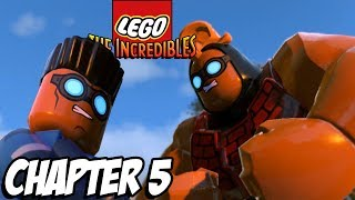 LEGO HOUSE PARR-TY! -  Lego The Incredibles Gameplay Walkthrough - Chapter 5 (Fun For Kids Lego)