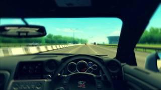 3D Инструктор 2.2.6 (City Car Driving) - шашки на Nissan GT-R 35