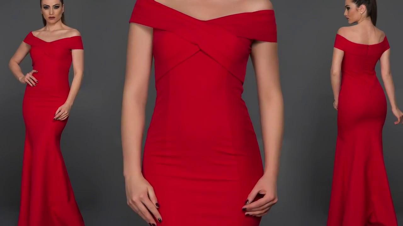 703bd30f463fc En Şık Kırmızı Abiye Elbise Modelleri #Abiyefon'da - YouTube