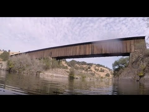 Hunting for Lost Treasure Under a Covered Bridge