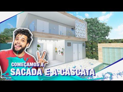 TERMINAMOS O TETO ACÚSTICO DO BEAUTY ROOM +  CONSTRUÇÃO DA VARANDA I TEMP03EP77
