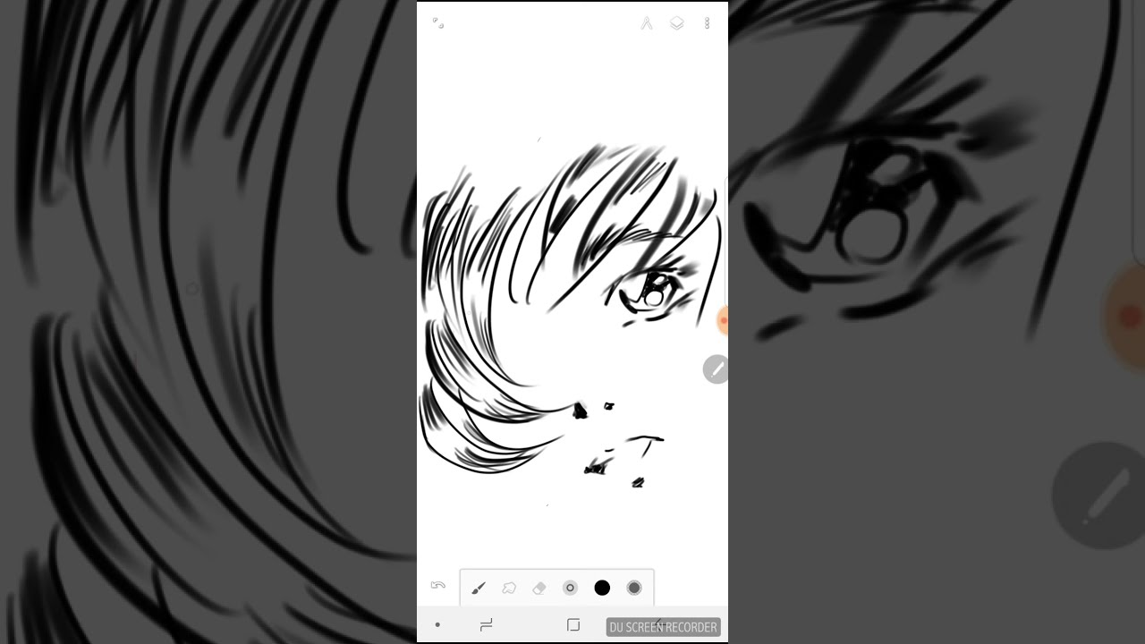 Speedpaint manga 1 disegni manga originali sketch