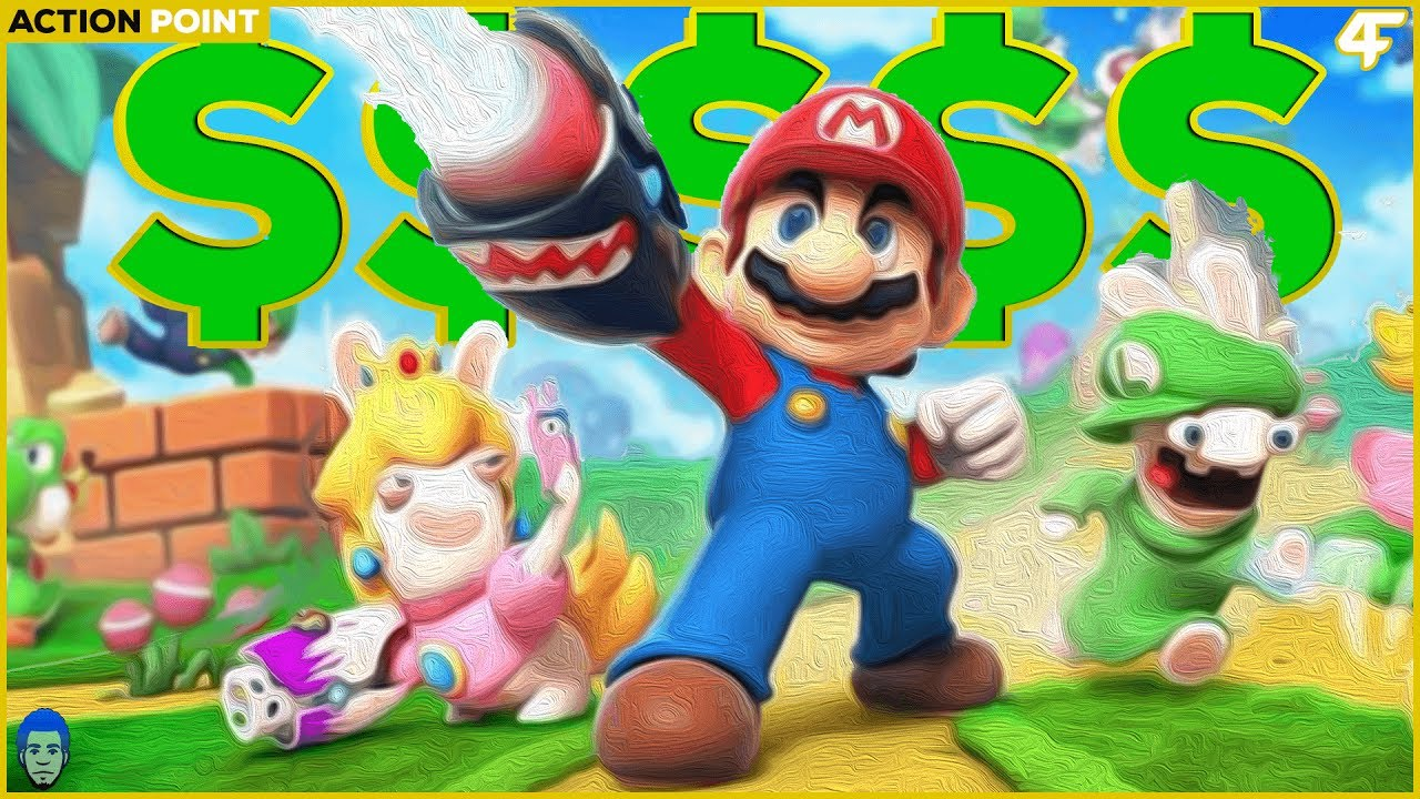 Here is our first look at Mario + Rabbids Kingdom Battle in action
