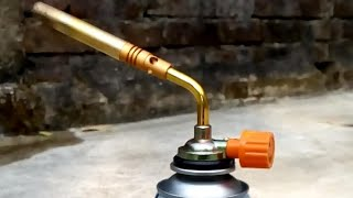 REVIEW BRAZING TORCH & BUTEN GAS CANISTER