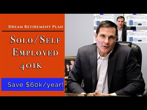 Solo/Self-Employed 401k! A Dream Retirement Plan! (Save $60k/year!)