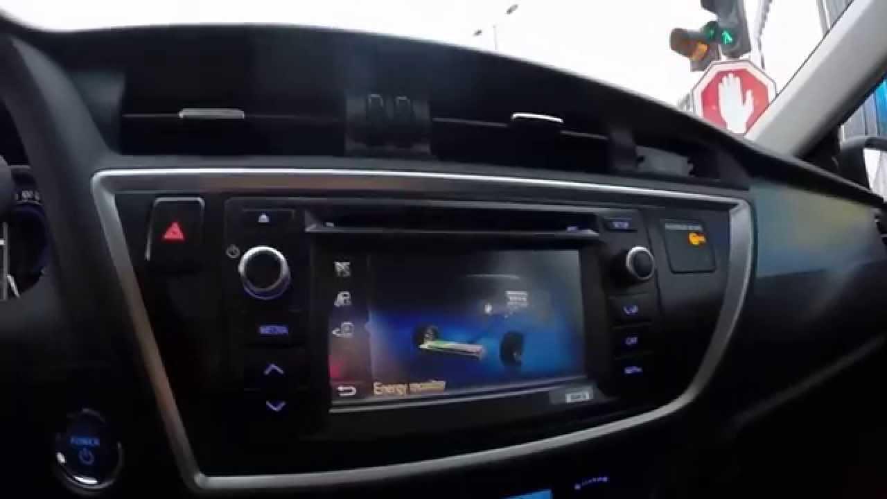 2015 Toyota Auris Hybrid Hatchback Youtube