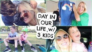 I PLEDGE THIS TO MY FAMILY  |  DAY IN THE LIFE VLOG with 3 KIDS | EMILY NORRIS AD
