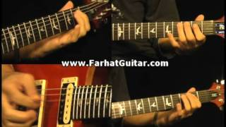 Roadhouse Blues - The Doors Guitar Cover www.FarhatGuitar.com