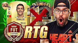 WTF WE SOLD THEM FOR CRISTIANO RONALDO!! FIFA 18 Ultimate Team Road To Glory #140 RTG