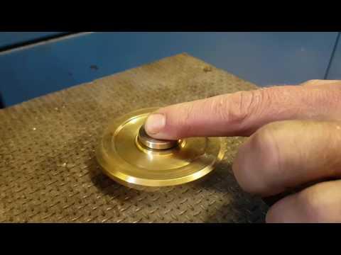 Custom made fidget spinner