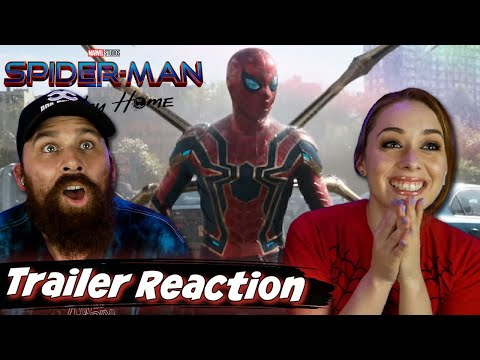 SPIDER-MAN: NO WAY HOME - Official Teaser Trailer REACTION & REVIEW!! - Marvel - MCU