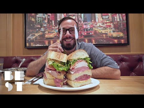 Only One Person Has Finished NYC's Biggest Sandwich   Best Products