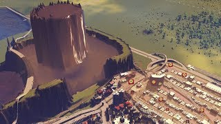 Can a Poop Volcano power an entire city in Cities Skylines?
