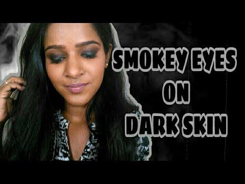 Smokey Eyes On Dark/Dusky Indian Skin❤