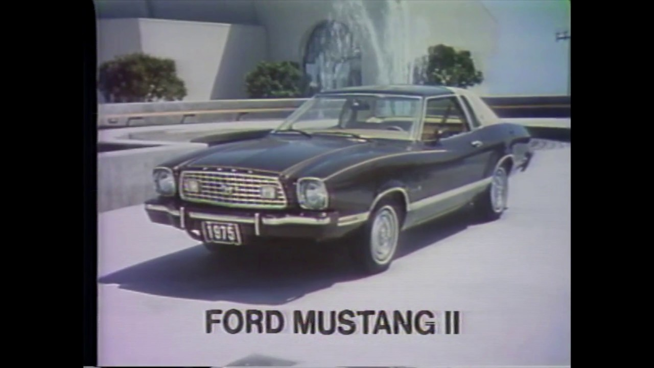 1975 ford mustang commercials youtube. Black Bedroom Furniture Sets. Home Design Ideas