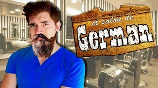 ÉPICA Y SENSUAL BARBA!! | The Barber Shop- JuegaGerman