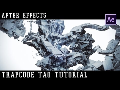 [ Trapcode Tao Tutorial FR ] intro Motion Design dans After Effects   + Template Free Download