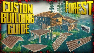 the Forest - How to build a second floor