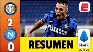 Inter vs Napoli | GOLAZO de Lautaro Martínez sentenció al equipo del Chucky Lozano | RESUMEN Serie A
