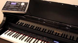 Roland Digital Piano — External Audio Player