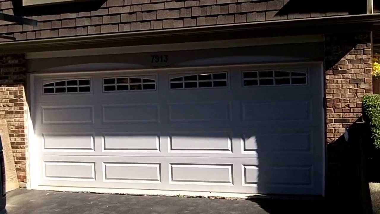 A 4216 CHI Garage Doors In Downers Grove,IL With Arched Stockton Glass    YouTube