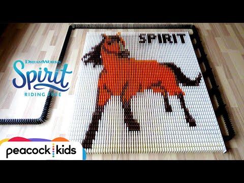 Spirit In 25,000 Dominoes | SPIRIT RIDING FREE