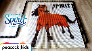 Spirit in 25,000 Dominoes | SPIRIT RIDING FREE