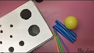 CHIẾC HỘP THẦN KỲ - Đồ chơi xỏ lỗ cho bé I Luyện kỹ năng vận động tinh cho bé