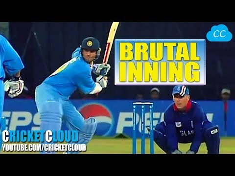 Sourav Ganguly Showing ENGLAND - WHO IS DADA - BRUTAL INNING !!