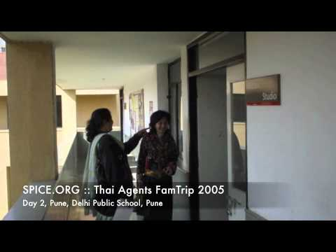 SPICE.ORG :: Thai Agents FamTrip 2005 :: Day 2, Pune, Delhi Public School, Pune