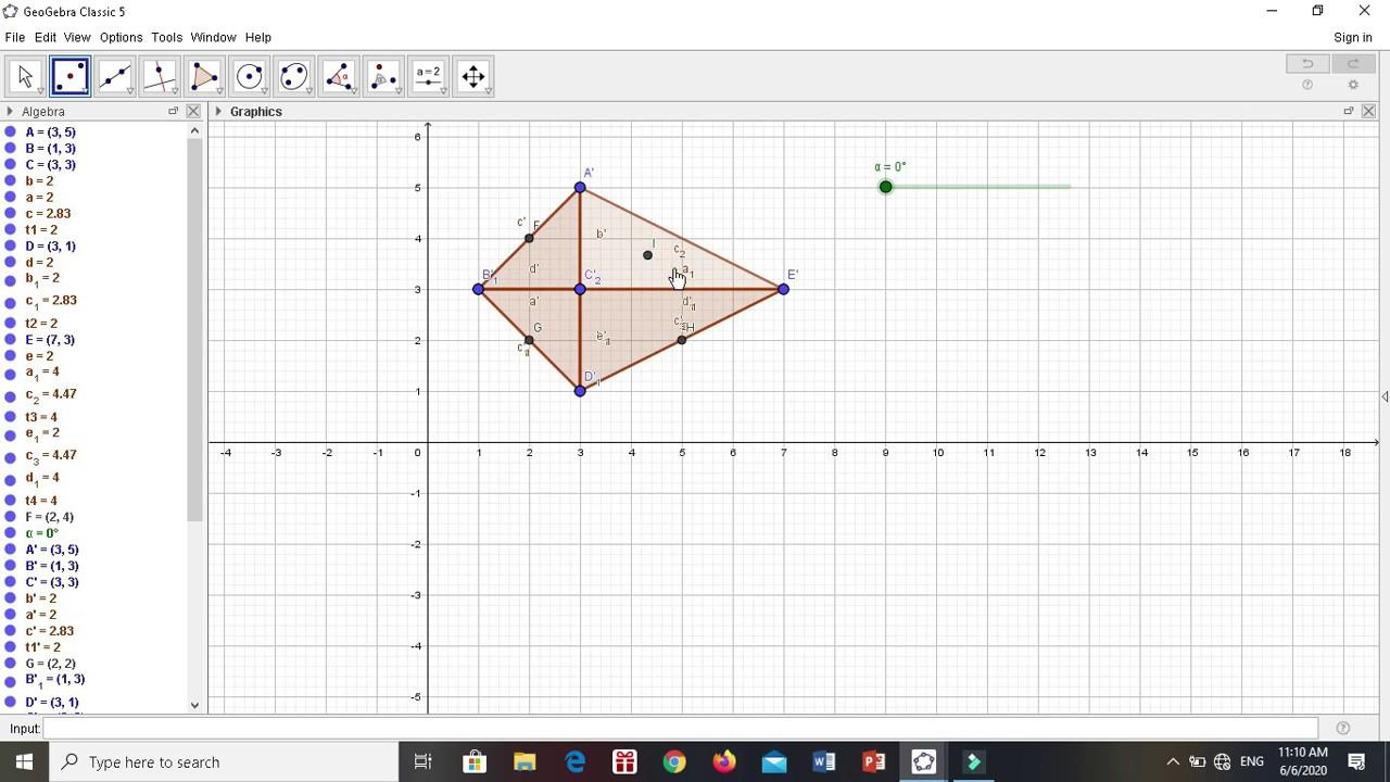 Tutorial Geogebra: 15. Pembuktian Luas dan Keliling Segitiga dan Segiempat