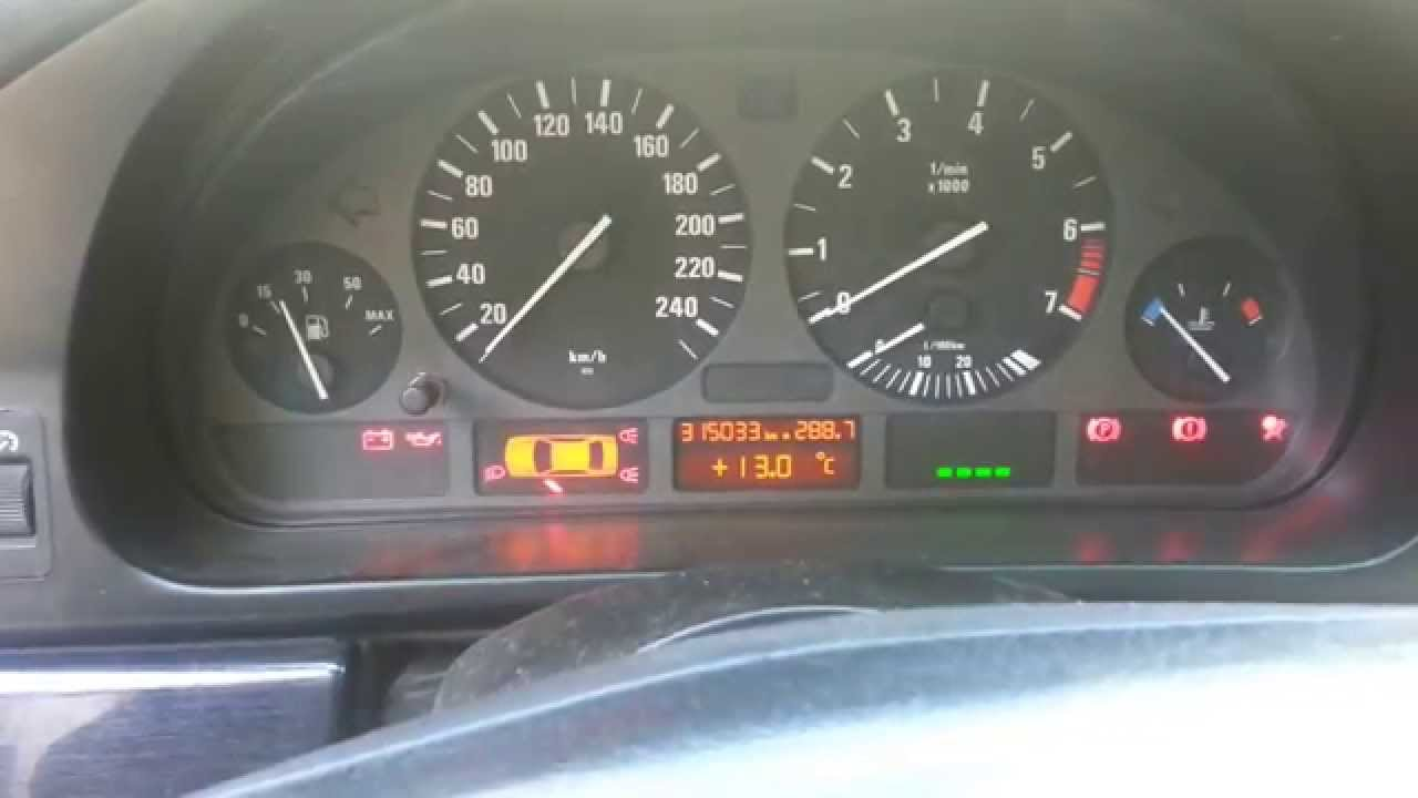 BMW 528i(E39) Start problem , no answer from engine !