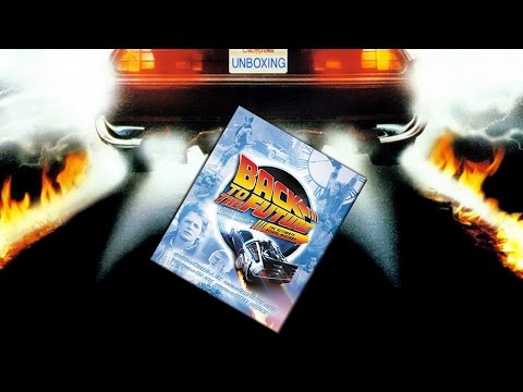 Unboxing: Back To The Future - The Ultimate Visual History Hardcover