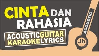 Yura yunita feat Gleen Fredly - Cinta dan Rahasia (Acoustic Karaoke Version) MP3