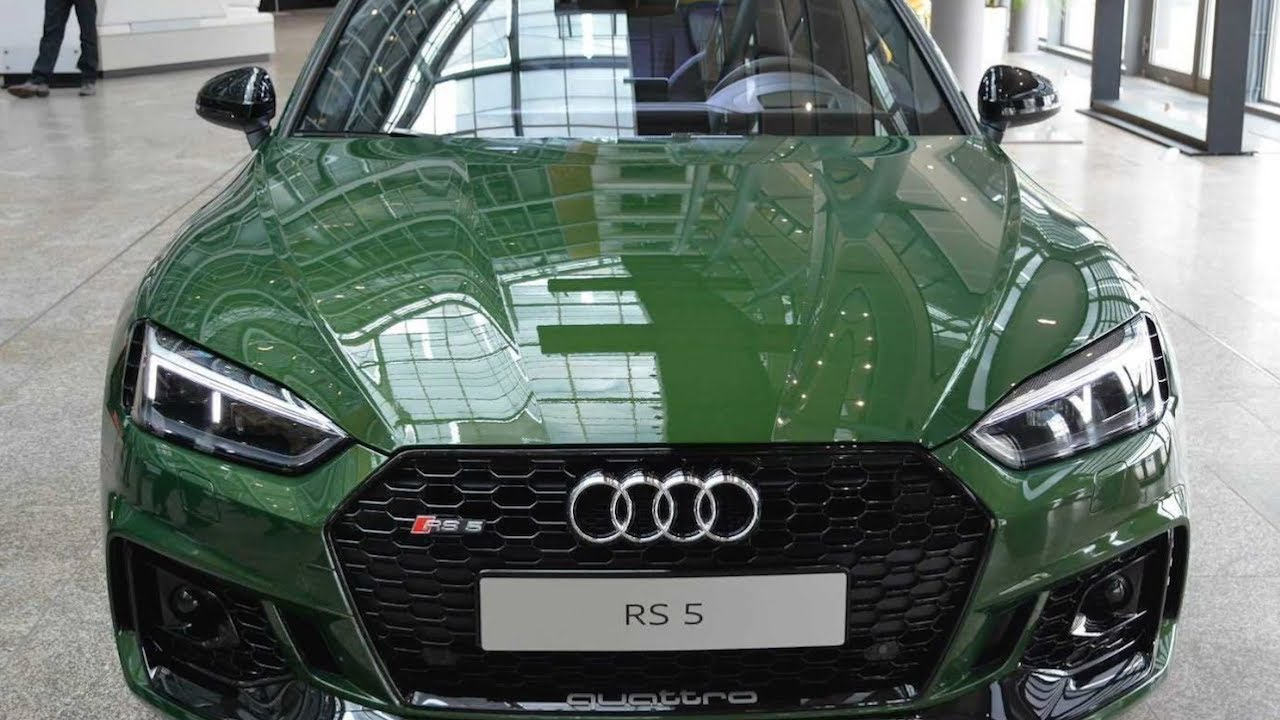 2018 audi exclusive colors. interesting colors new 2018 audi exclusive rs5 coup in green sonomagrun metallic for audi exclusive colors youtube