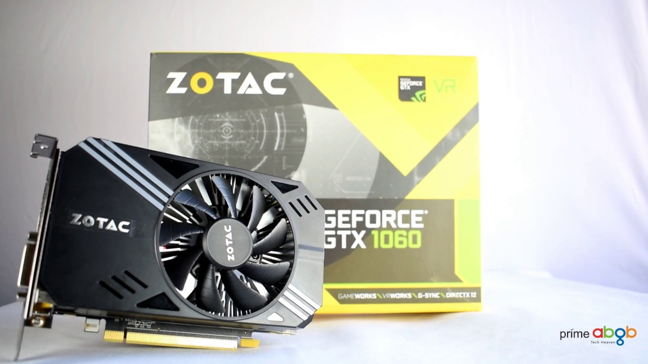 ZOTAC GeForce GTX 1060 3GB Mini Edition Unboxing & Quick Look