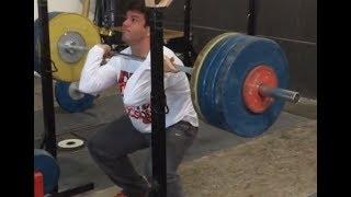 175kg Front Squat @ 76kg