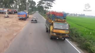 Northbengal natural scenario of highway.